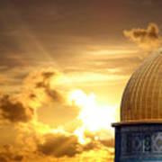 Jerusalem - The Morning Light Poster