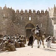 Jerusalem: Caravan, C1919 Poster