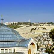 Jerusalem View Poster