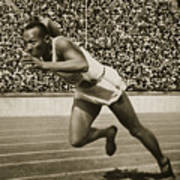 Jesse Owens Poster