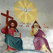 Jesus And Abraham Poster