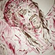 Jesus Crucified Poster