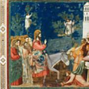 Jesus Entering Jerusalem Poster