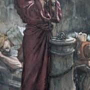 Jesus In Prison Poster