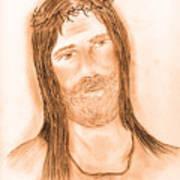 Jesus In The Light Poster