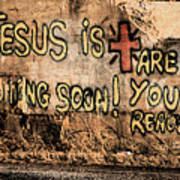 Jesus Is Coming Soon Poster