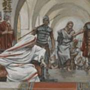 Jesus Led From Herod To Pilate Poster by Tissot