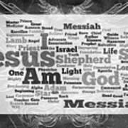 Jesus Messiah Poster