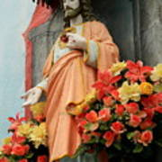 Jesus On Burano Poster