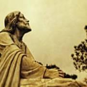 Jesus Teach Us To Pray - Christian Art Prints Poster