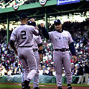 Jeter And Torre Poster