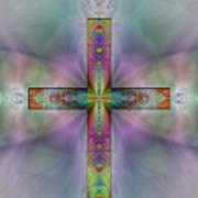 Jeweled Cross Poster