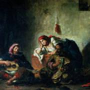 Jewish Musicians In Mogador Poster