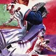 Jim Abbott Poster by Ken Meyer jr