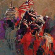 Jima Memorial Washington Dc Poster