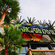 Jimmy Buffets Margaritaville In Las Vegas Poster by Susanne Van Hulst