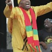 Jimmy Cliff Painting Poster