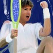 Jimmy Connors Poster
