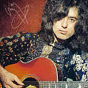 Jimmy Page Poster