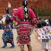 Jingle Dress And Fancy Shawl Dancers Poster