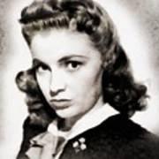 Joan Leslie, Vintage Actress Poster