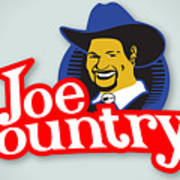 Joecountry Logo_llc Kitchen Poster by Joe Greenidge