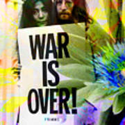John And Yoko - War Is Over Poster by Andrew Osta