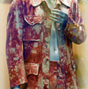 John Entwistle's Tie Died Suede Suit Poster