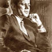 John Fitzgerald Kennedy Poster