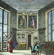 John Flamsteed, C. 1700 Poster