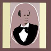 John P. Clum Portrait C. 1870 Poster