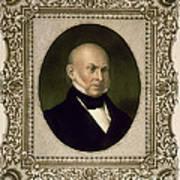John Quincy Adams, 6th U.s. President Poster