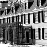 John Quincy Adams House Facade Poster