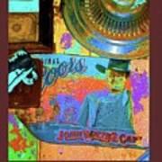 John Wayne Coors Light Commemorative Tinware  Coolidge Arizona 2004-2009 Poster