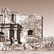 John Wayne's Alamo Mission Poster