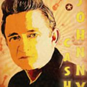Johnny Cash Poster  Poster