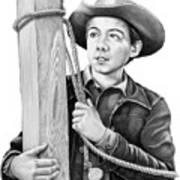 Johnny Crawford-mark Mccain Poster