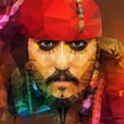 Johnny Depp As Jack Sparrow Poster