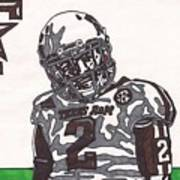 Johnny Manziel 11  Poster by Jeremiah Colley