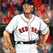 Johnny Pesky  Poster by Dave Olsen