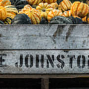 Johnston Fruit Farms Poster