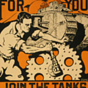 Join The Tanks Poster