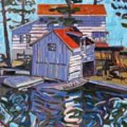 Jones Boathouse Poster
