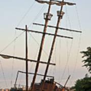 Jordan Harbour Wreck Poster