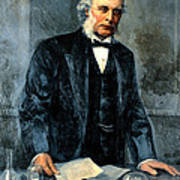 Joseph Lister, Surgeon And Inventor Poster