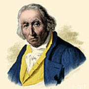Joseph-marie Jacquard, French Inventor Poster