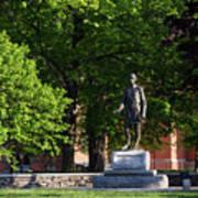 Joshua Lawrence Chamberlain Statue, Brunswick, Maine #0013 Poster