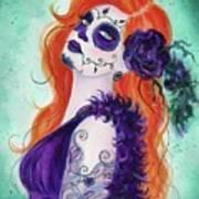 Joslyn Day Of The Dead Art Poster