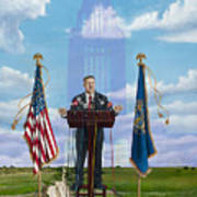 Journey Of A Governor Dave Heineman Poster