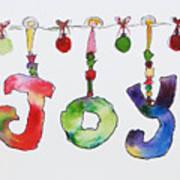 Joy Poster by Becky Kim